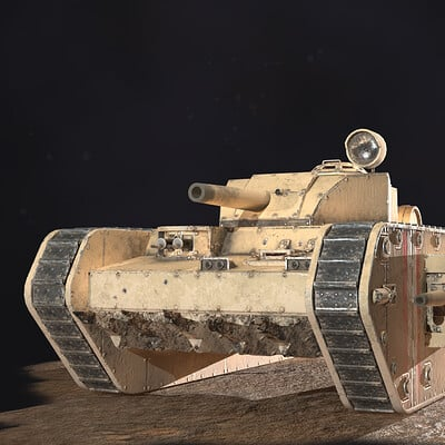 Fantasy WW1 Tank