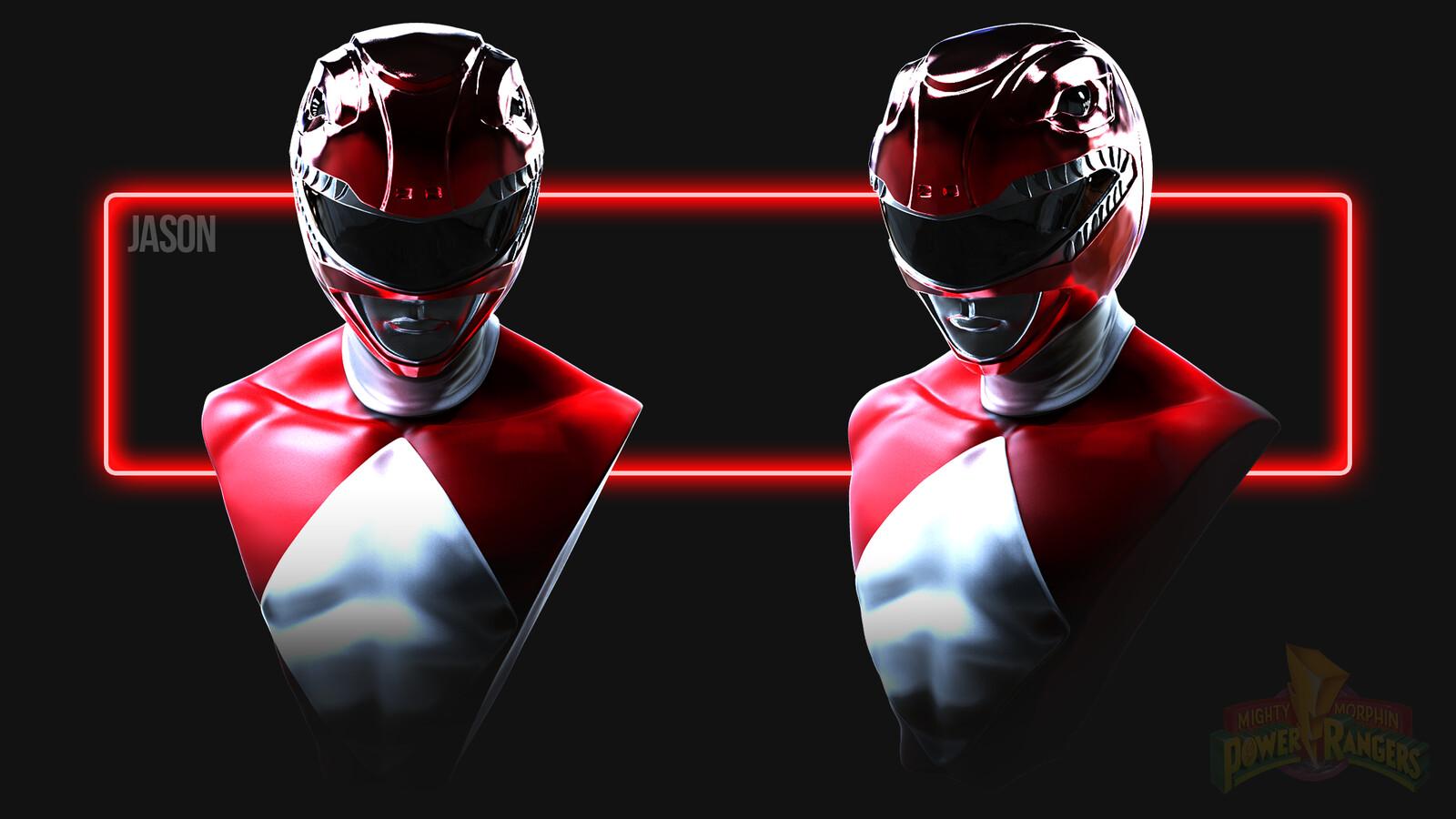Jason Lee Scott the Red Power Ranger