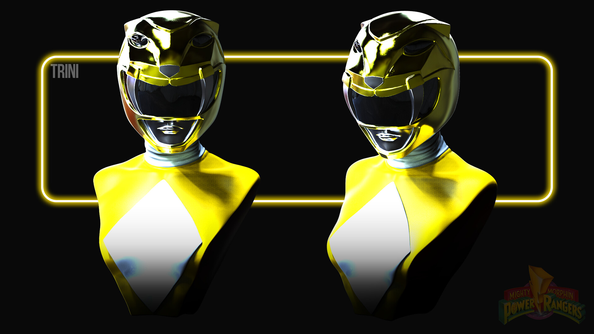 Trini Kwan the Yellow Power Ranger