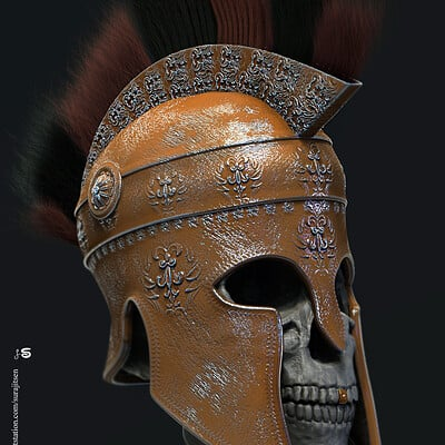 Surajit sen ghost warrior digital sculpture surajitsen april2020dd