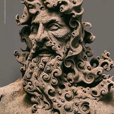 Surajit sen expression digital sculpture surajitsen april2020