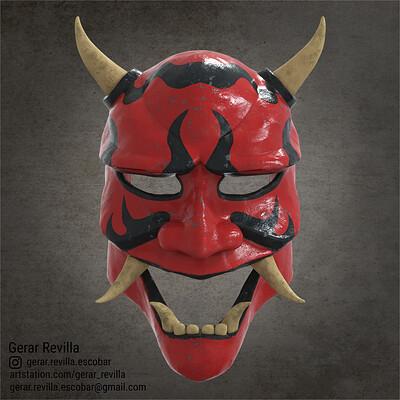 Gerar revilla kabuki mask render 00364