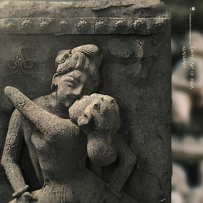 Surajit sen erotic art of india khajuraho digital sculpture by surajit sen april2020