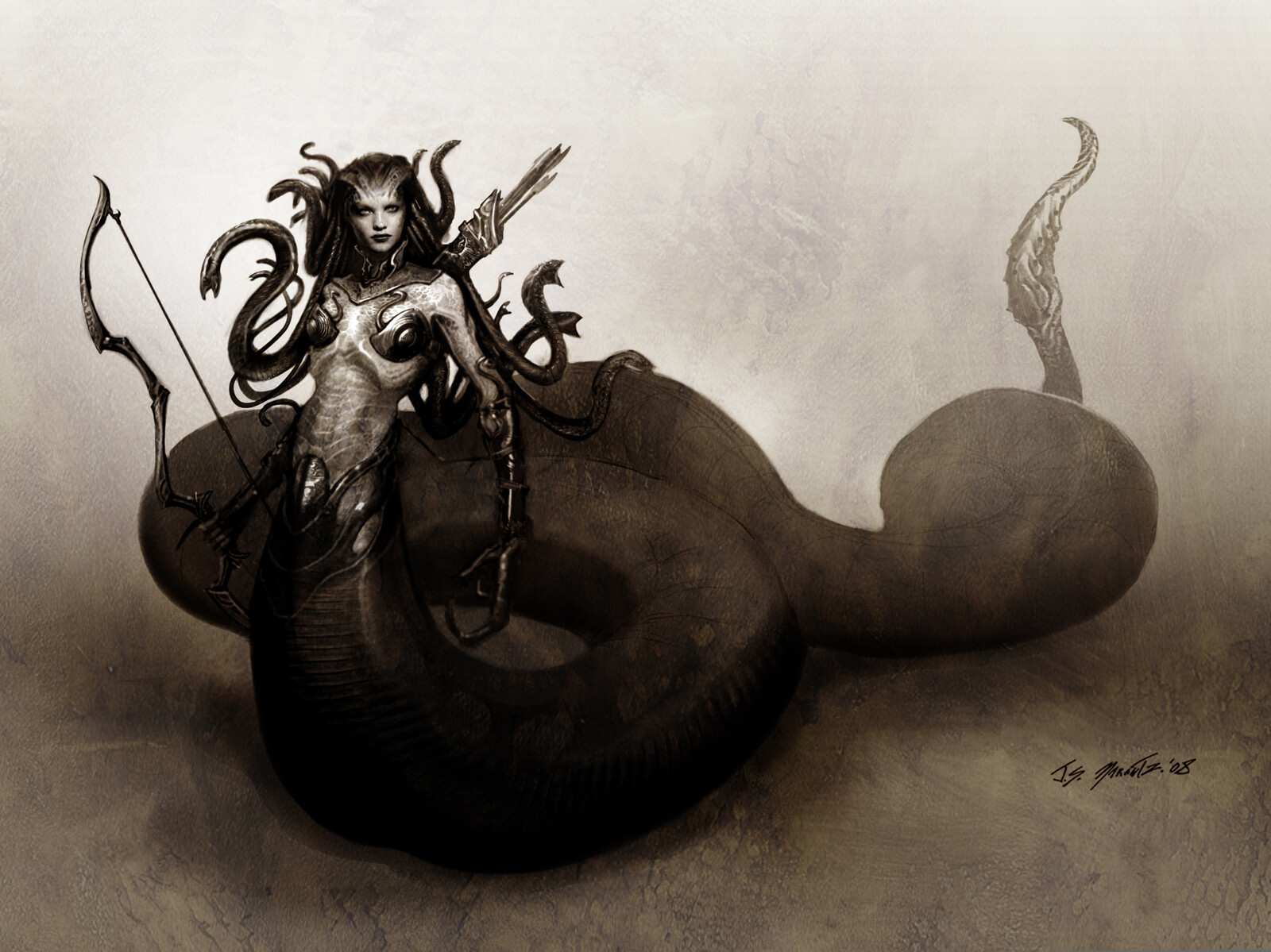 Medusa Designs for Clash of the Titans