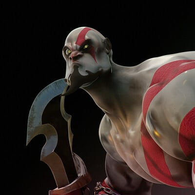 Hector rojo kratos final