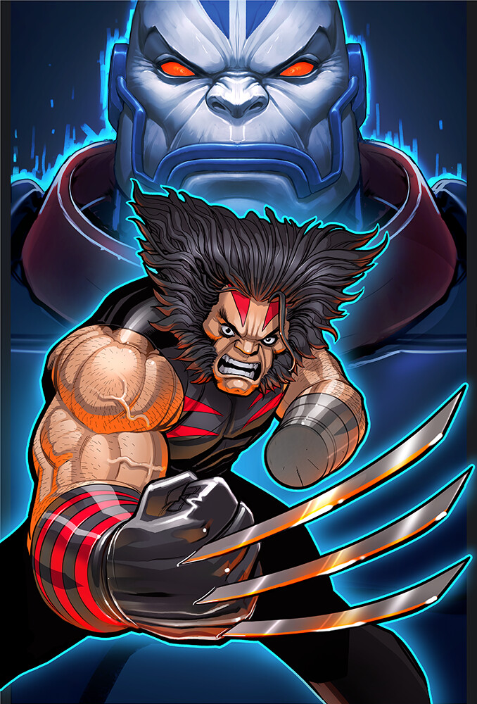 Final Wolverine Package Art