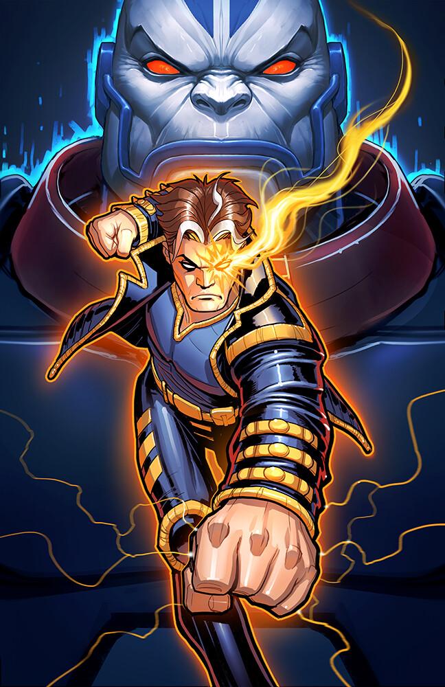 Final X-Man Package Art