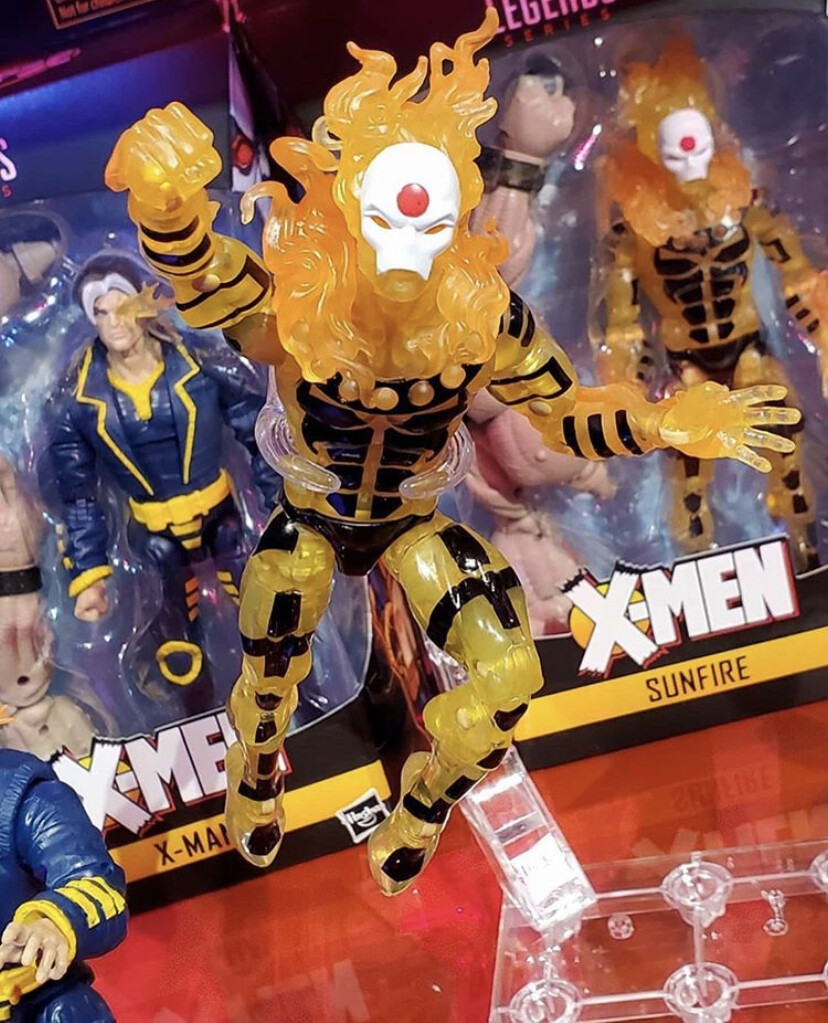 Sunfire figure (as seen at Toy Fair 2019)
