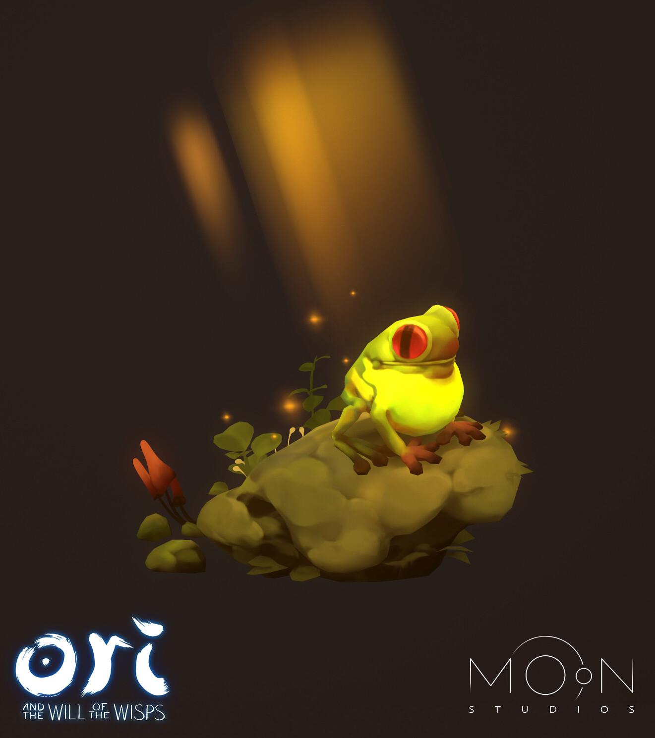 Cute Frog =) Concept by Mickhail Rakhmatullin