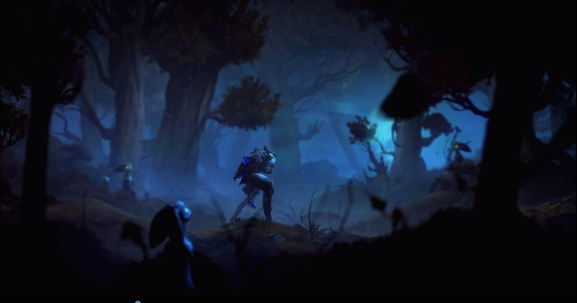 Shriek backstory Character lighting