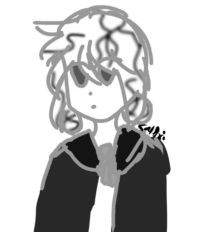 Howlite sketch