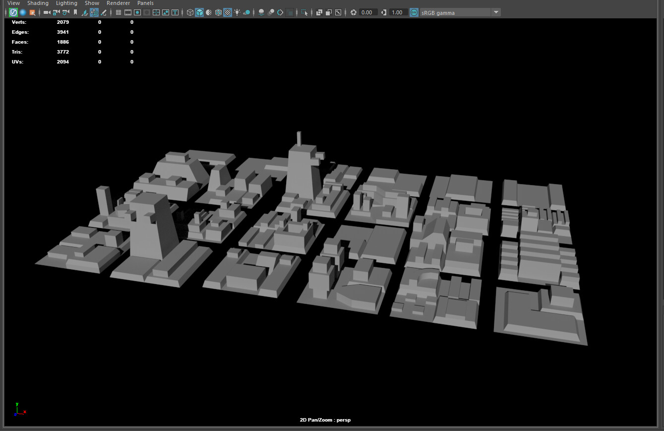 Built the trench using MASH; Modeling multiple panel variants, and laying them along the vertices of a plane.