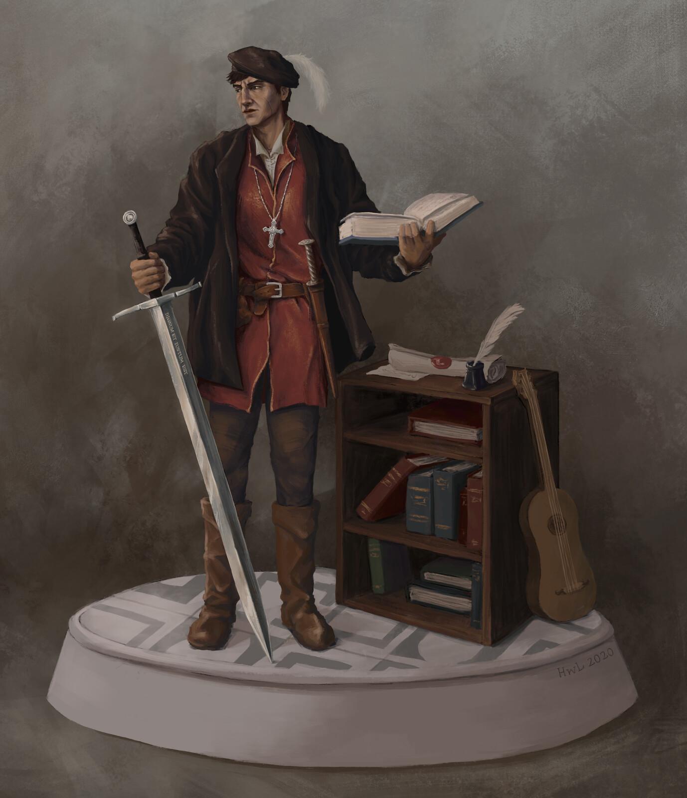 Character Design: Renaissance Man