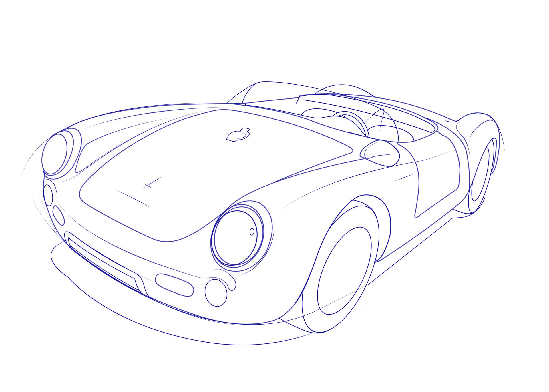 Matt Bernal James Dean Porsche 550 Spyder