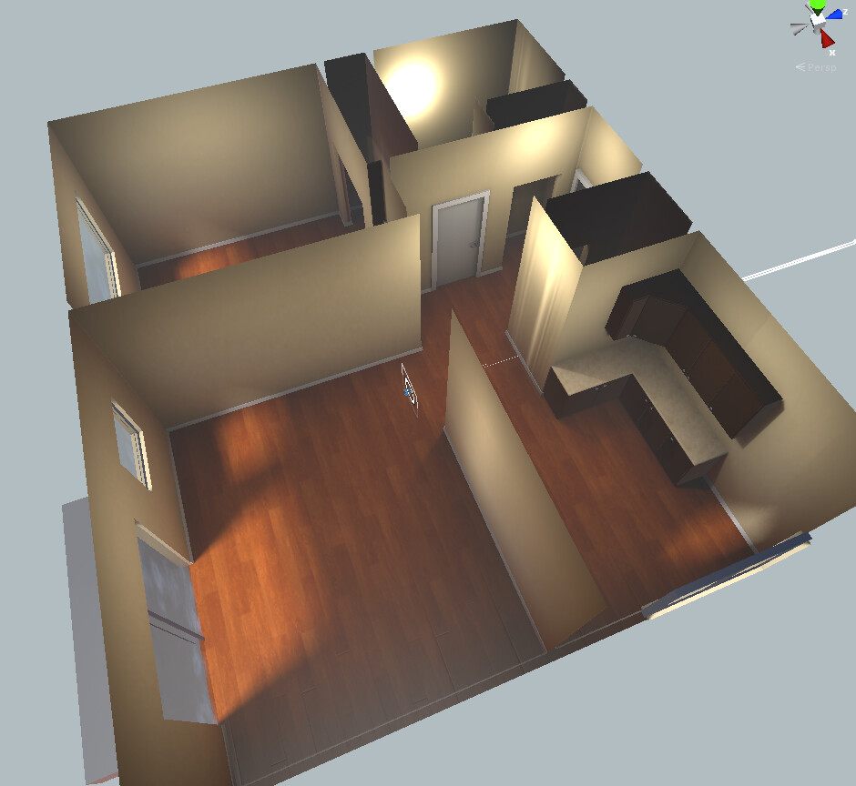 Interior Level Layout