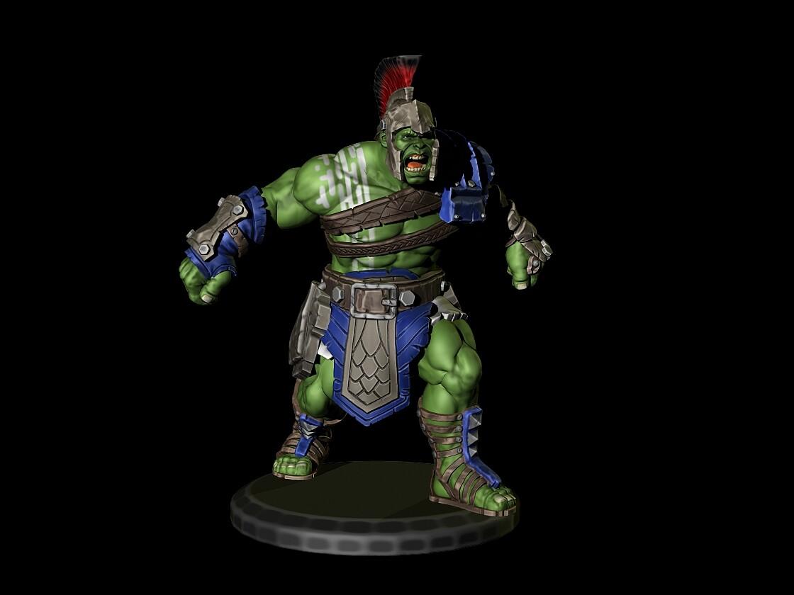 Fantasy football Hulk Ragnarok Style
