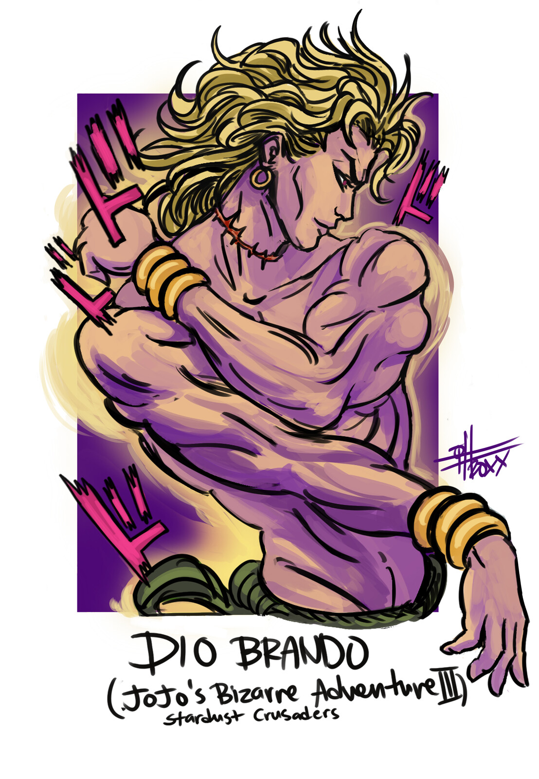 Dio Brando from JJBA 3: Stardust Crusaders