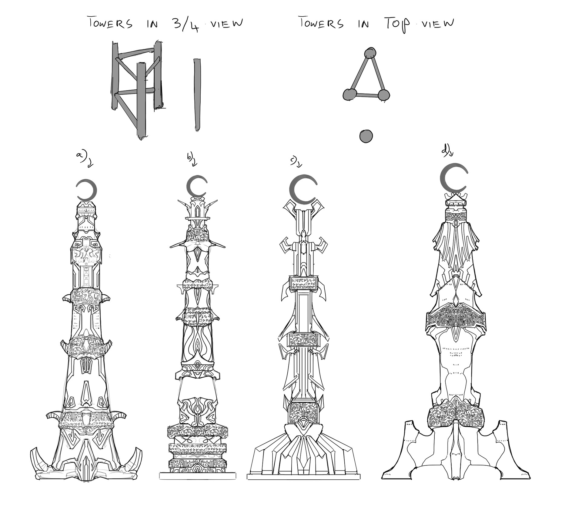 Early tower ideas