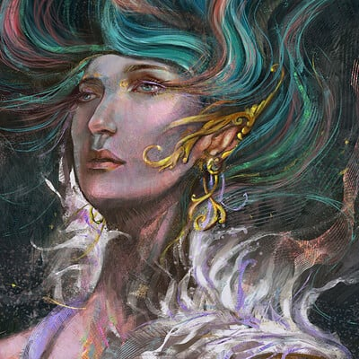 Arya art woman 08