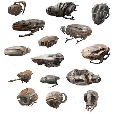 James ledger dronelike shapes