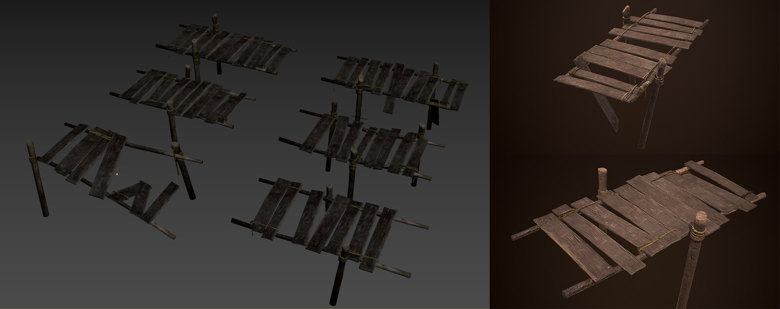 Dock pack with assets above.