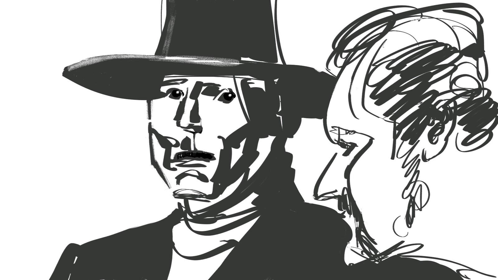 Western, Cowboy.