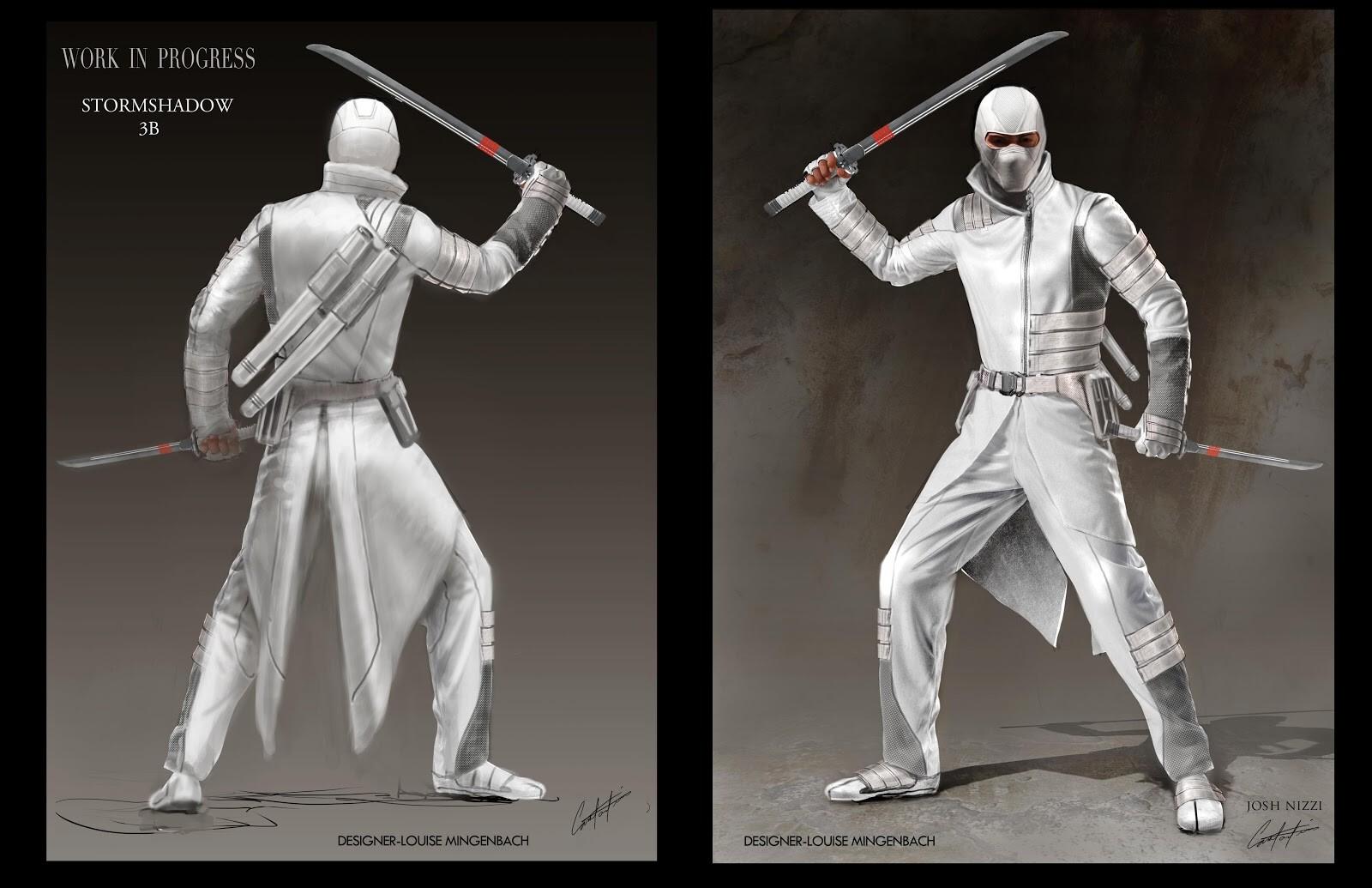 Storm Shadow Final Film Costume Concept