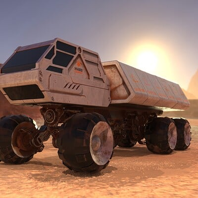 Federico zimbaldi space rover 1011