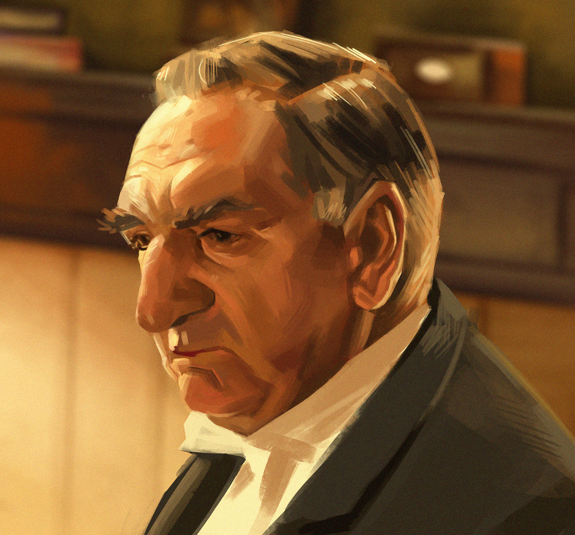 """Mister Carson from """"Downton Abbey"""""""