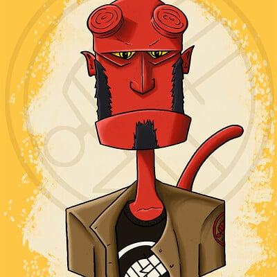 Ben scarbeau hellboy small