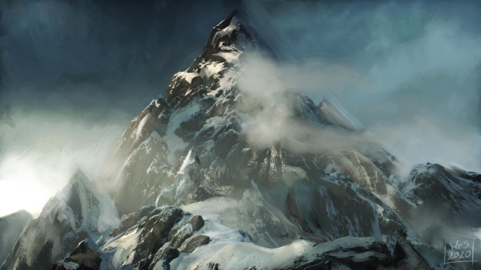 Mountain Sketch