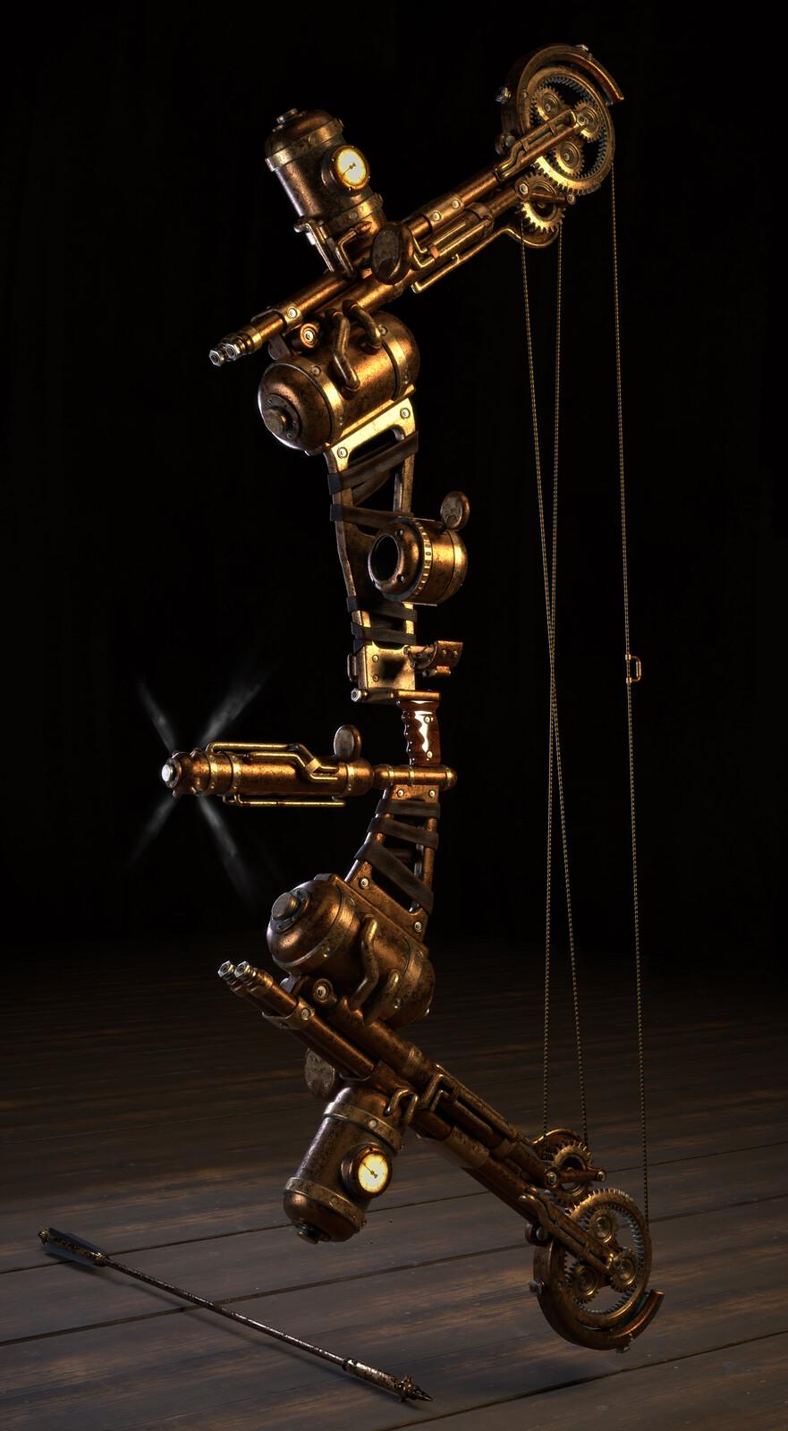 Steampunk Bow