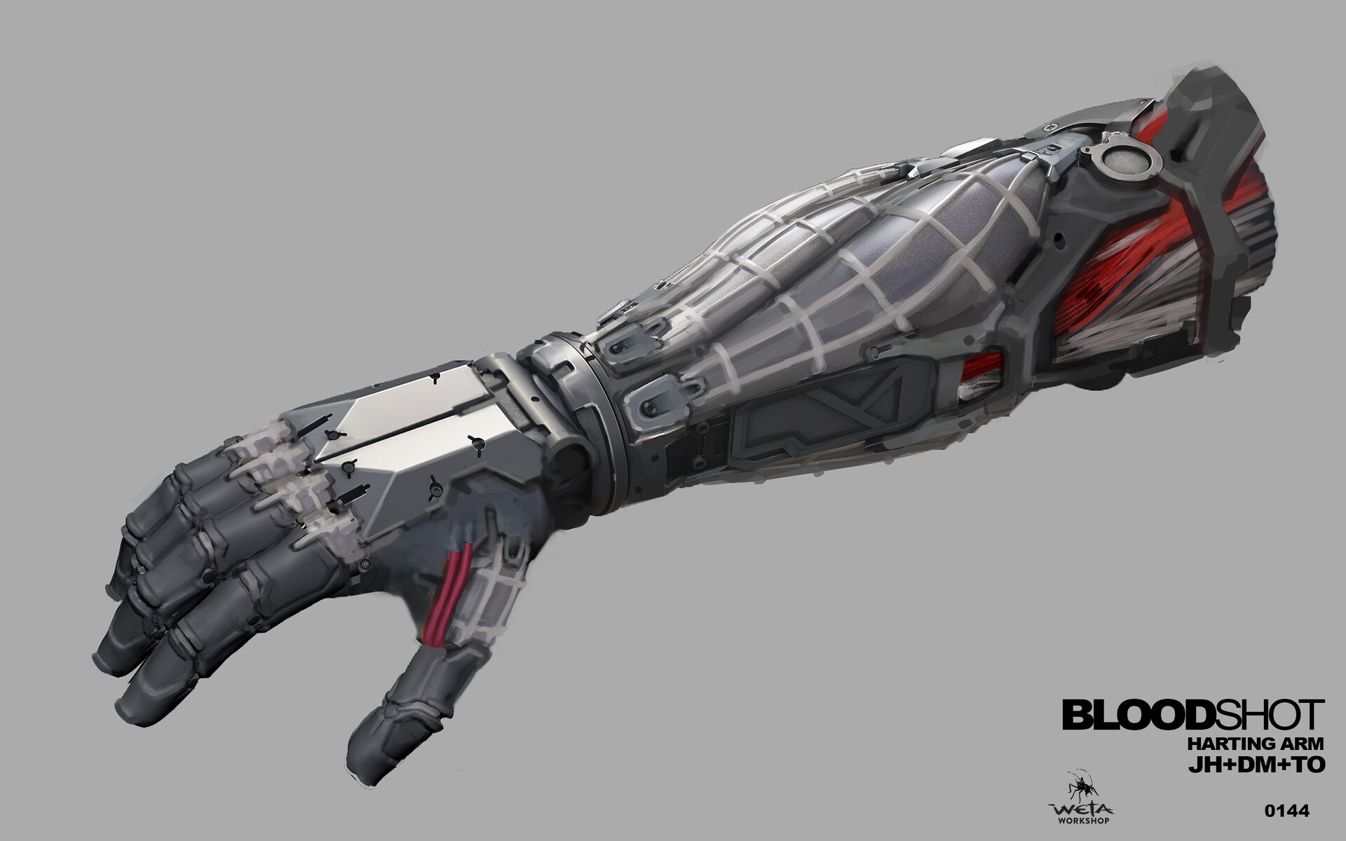 Harting Arm Detail - Artists: Thomas Oates + Dane Madgwick +  Jared Haley
