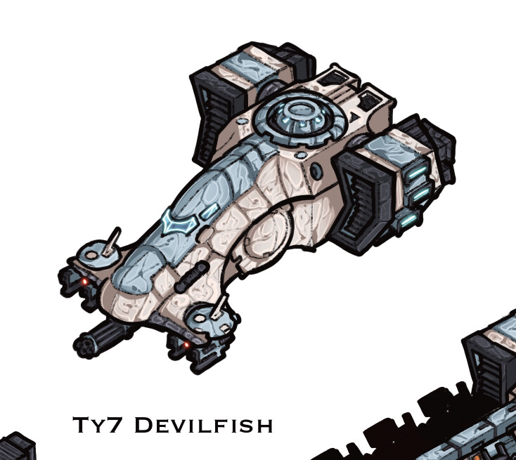 Ty7 Devilfish - troop transport