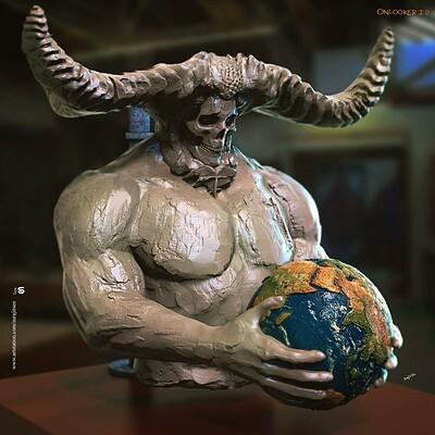 Surajit sen onlooker2 0 digital sculpture surajitsen april2020a ins