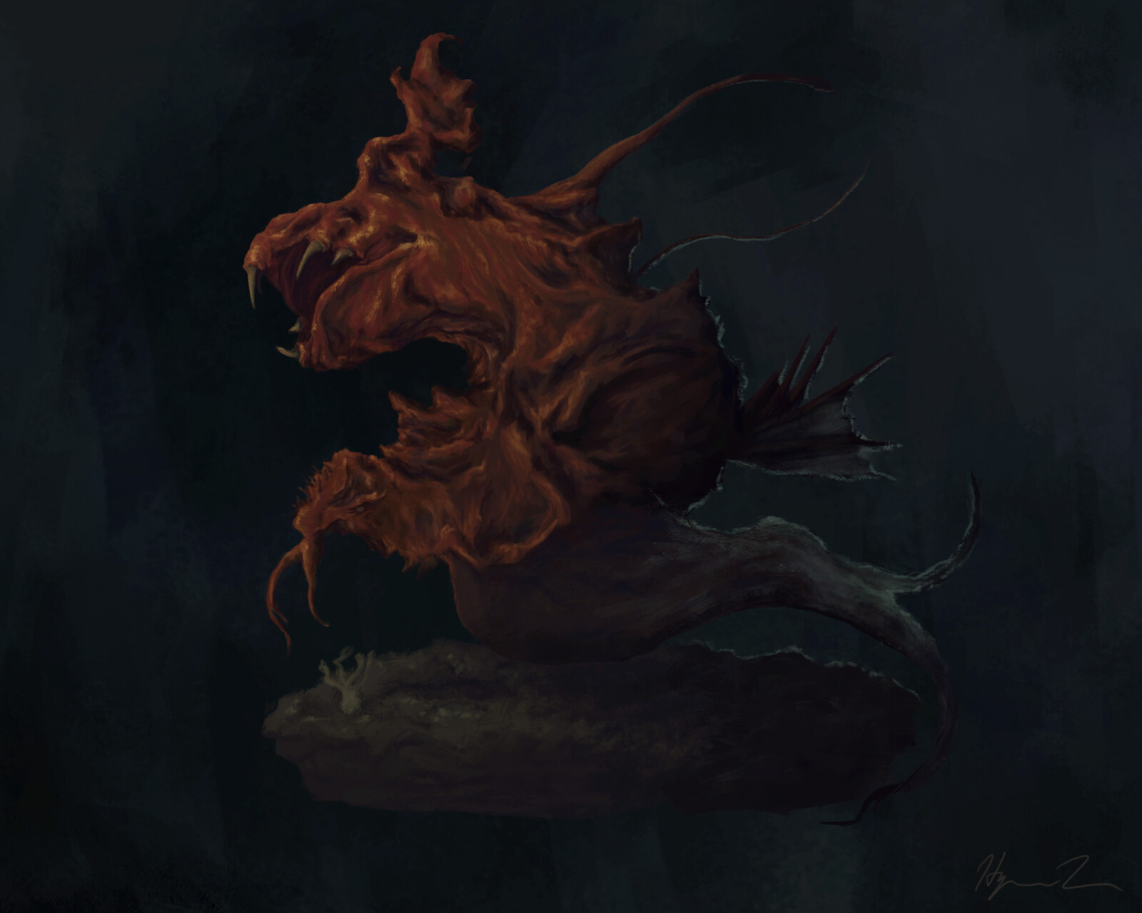 Creature Design: Abyss Monster