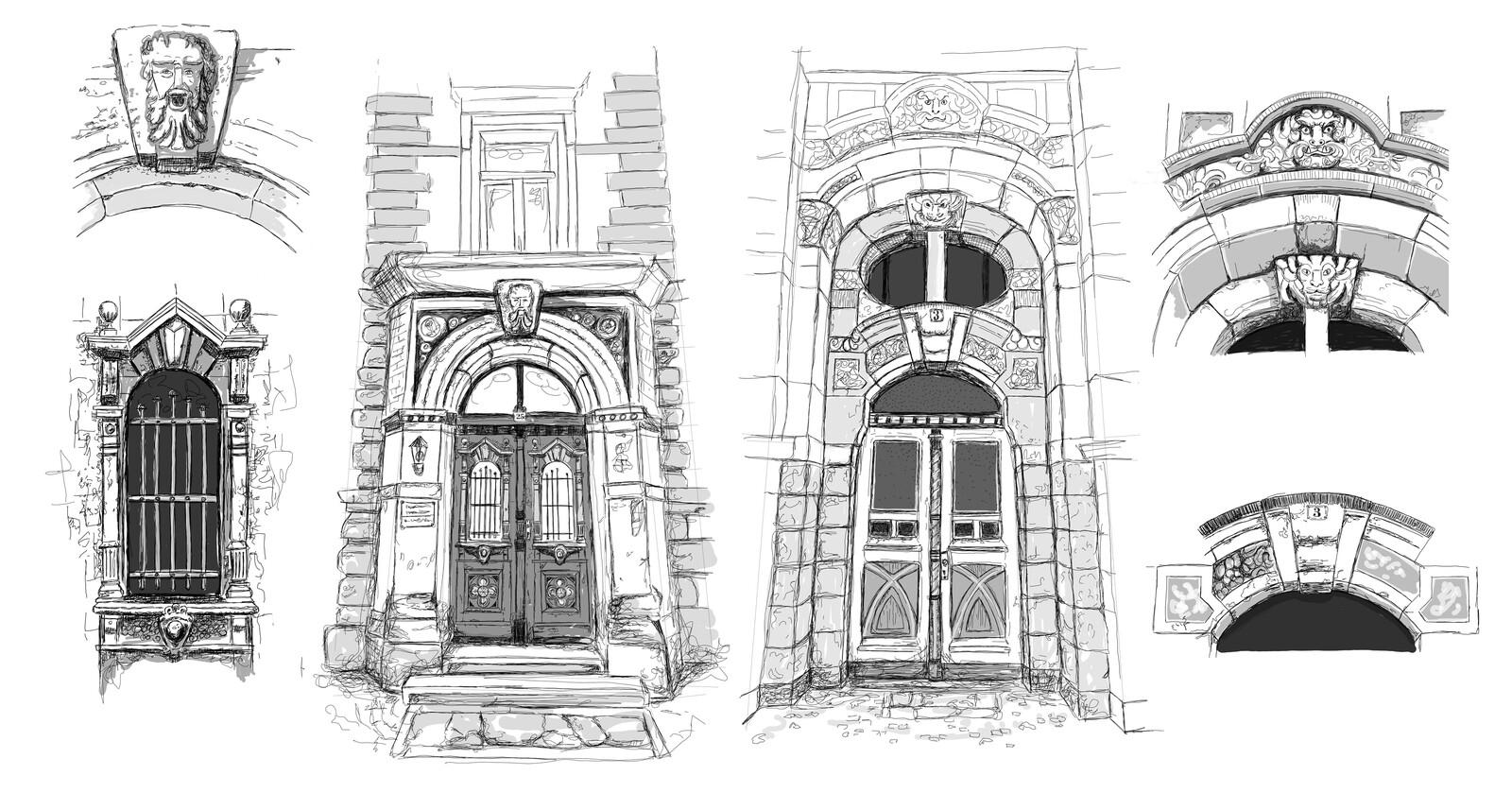 High Doors concept