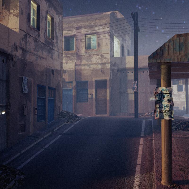 Quarantined Street