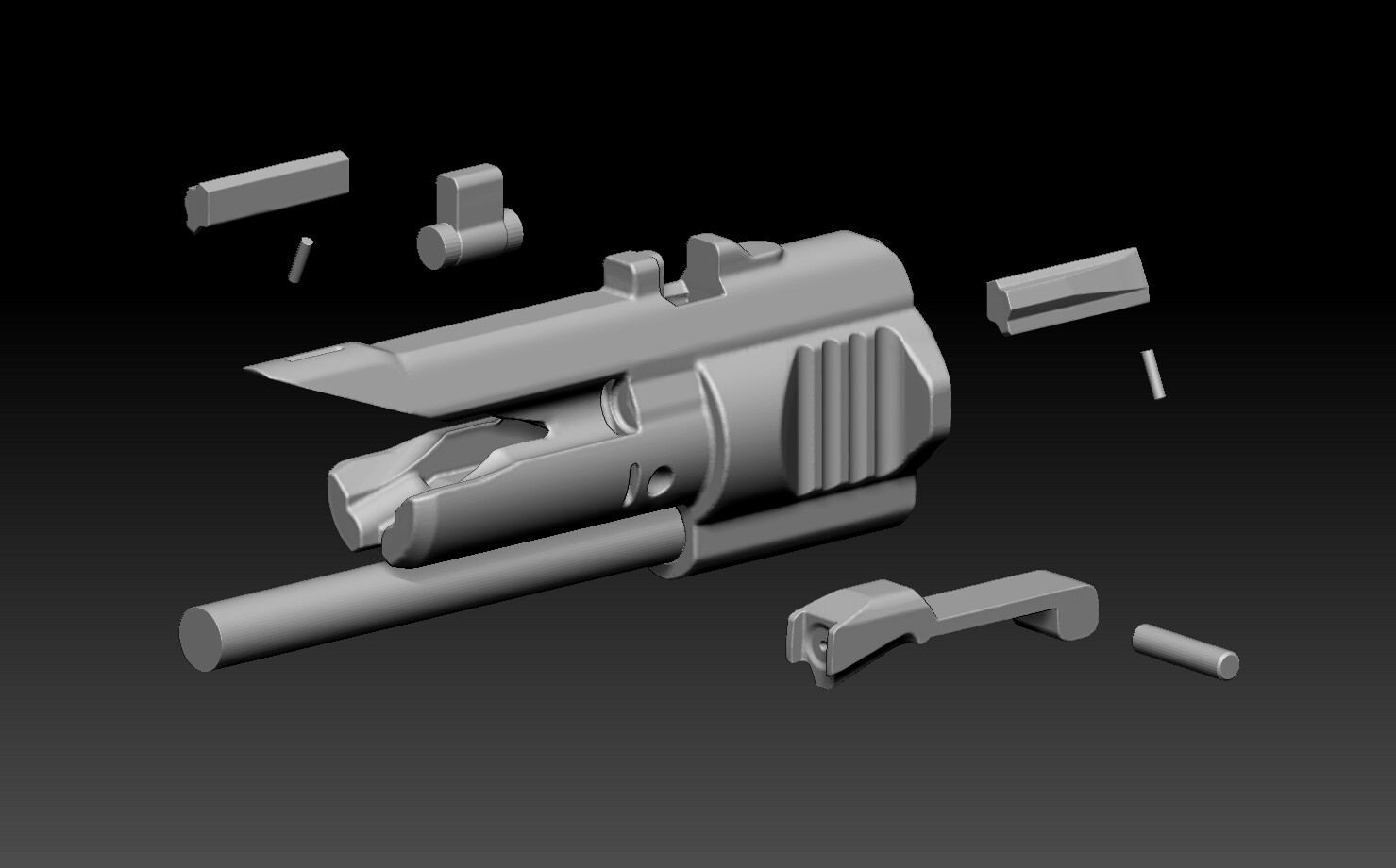 bolt carrier group prototype