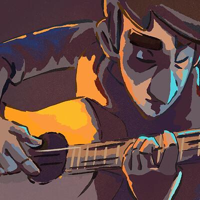 Pablo conde guitarreando 008