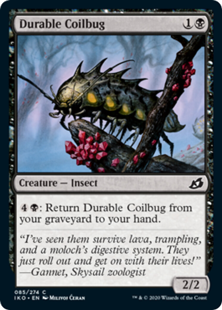"""Durable Coilbug"" released card