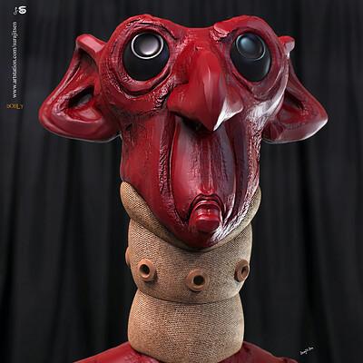 Surajit sen dobly digital sculpture surajitsen april2020ss