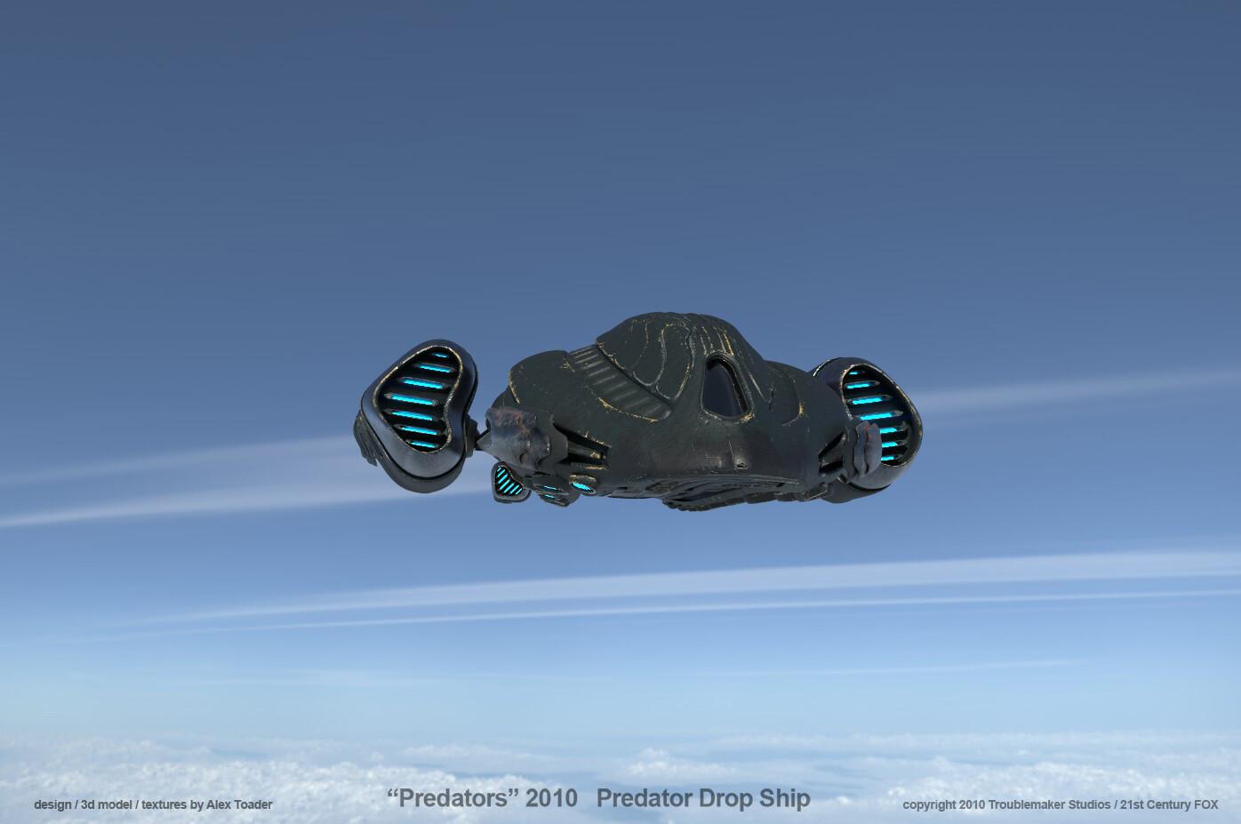 Predator DropShip over Sierras v3