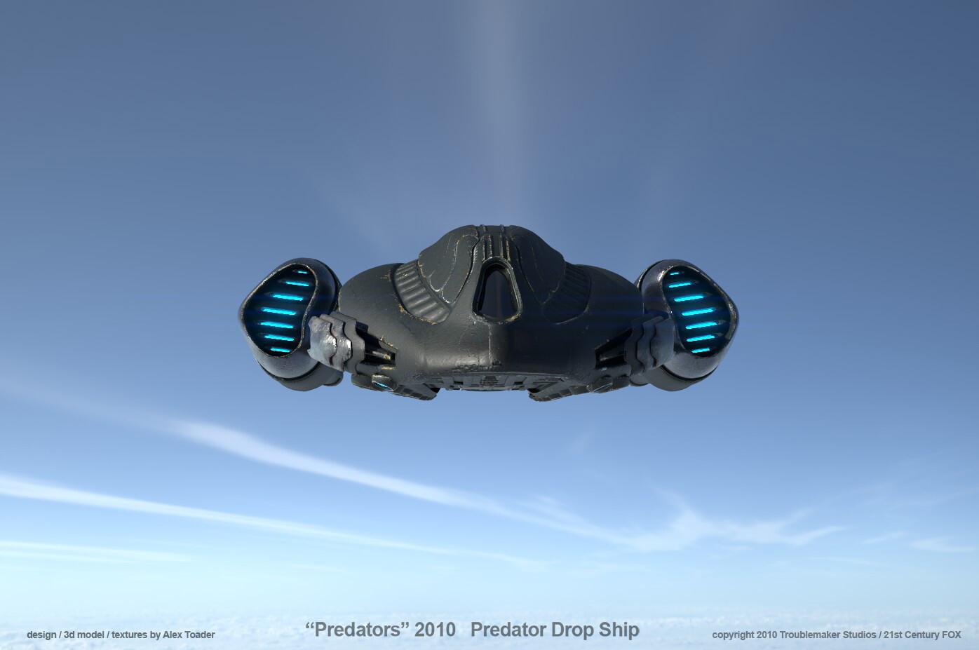 Predator DropShip over Sierras v4