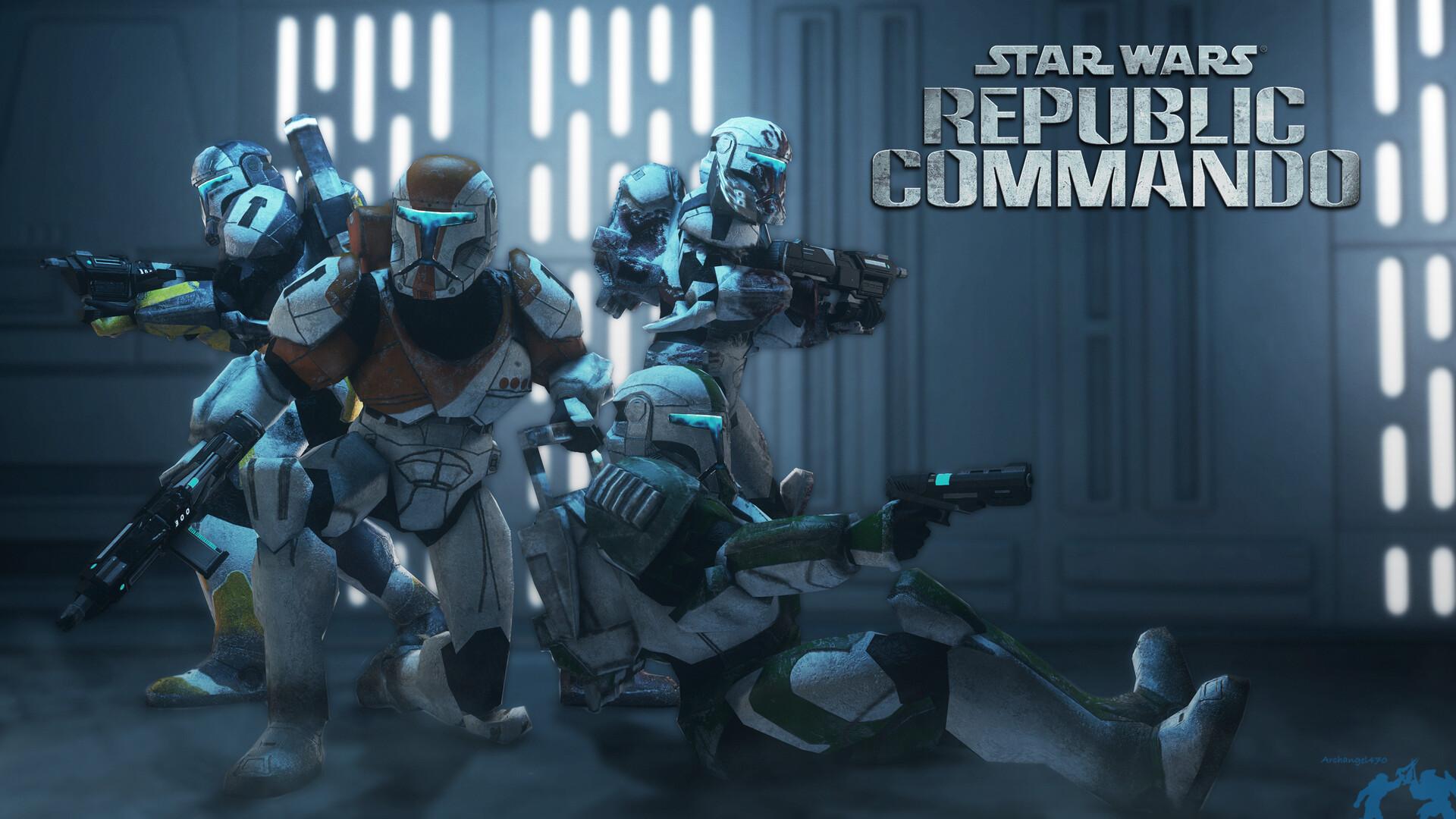 Artstation Star Wars Republic Commando 4k Wallpaper Ben Walker
