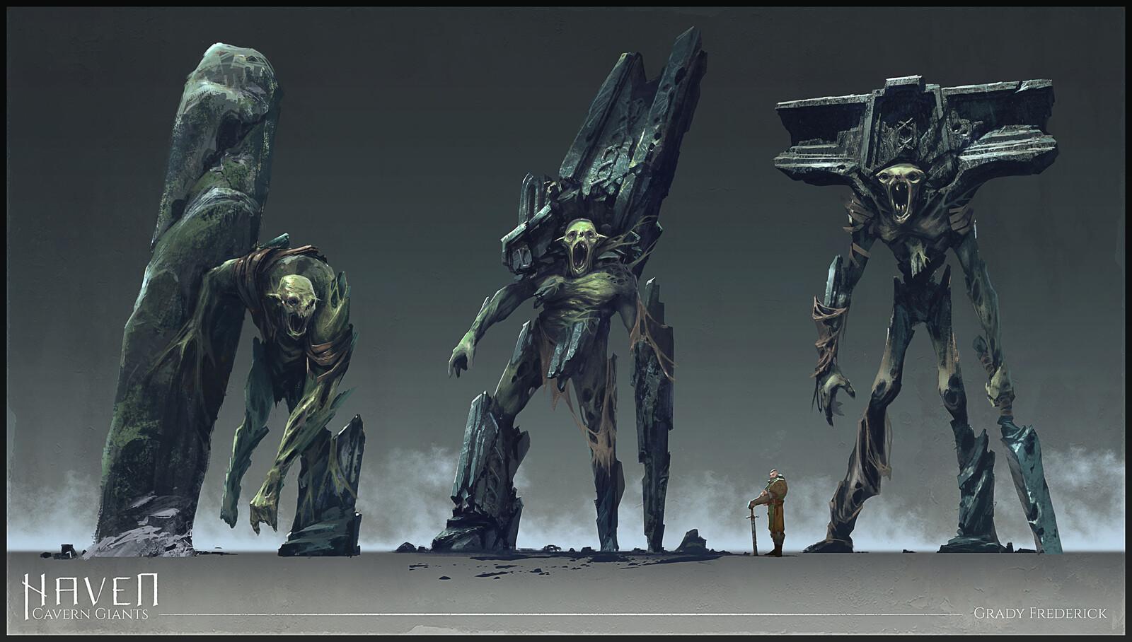 Haven - Cavern Giants