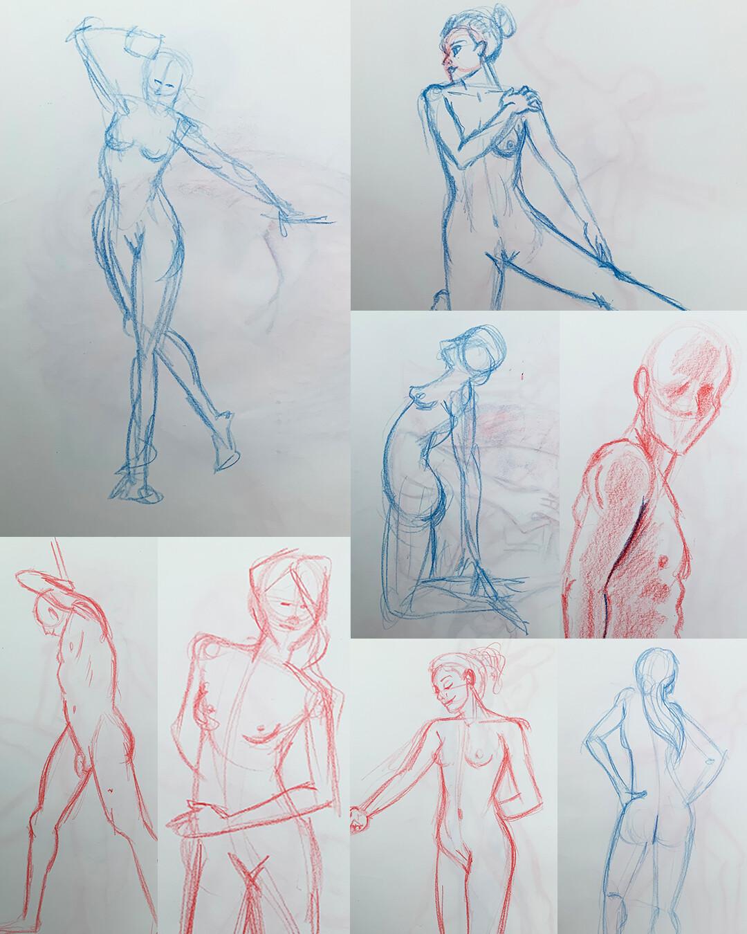 Gesture Drawings II