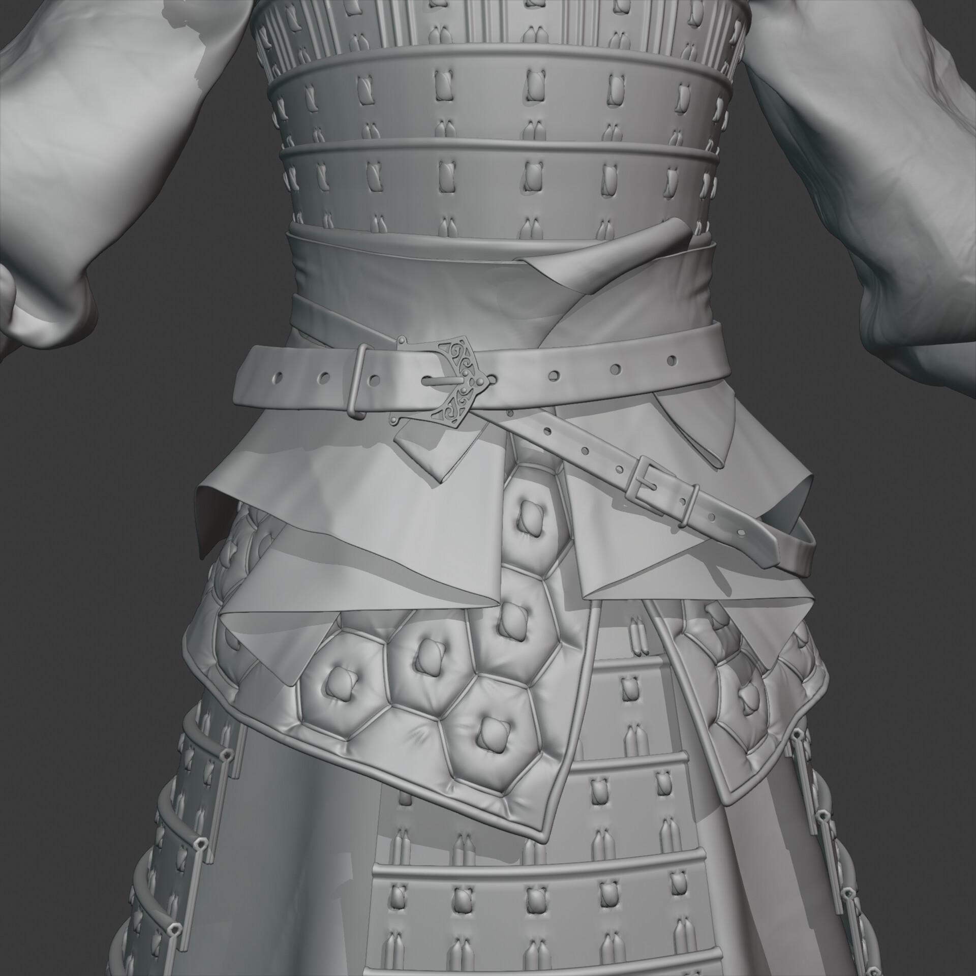 Highpoly detail