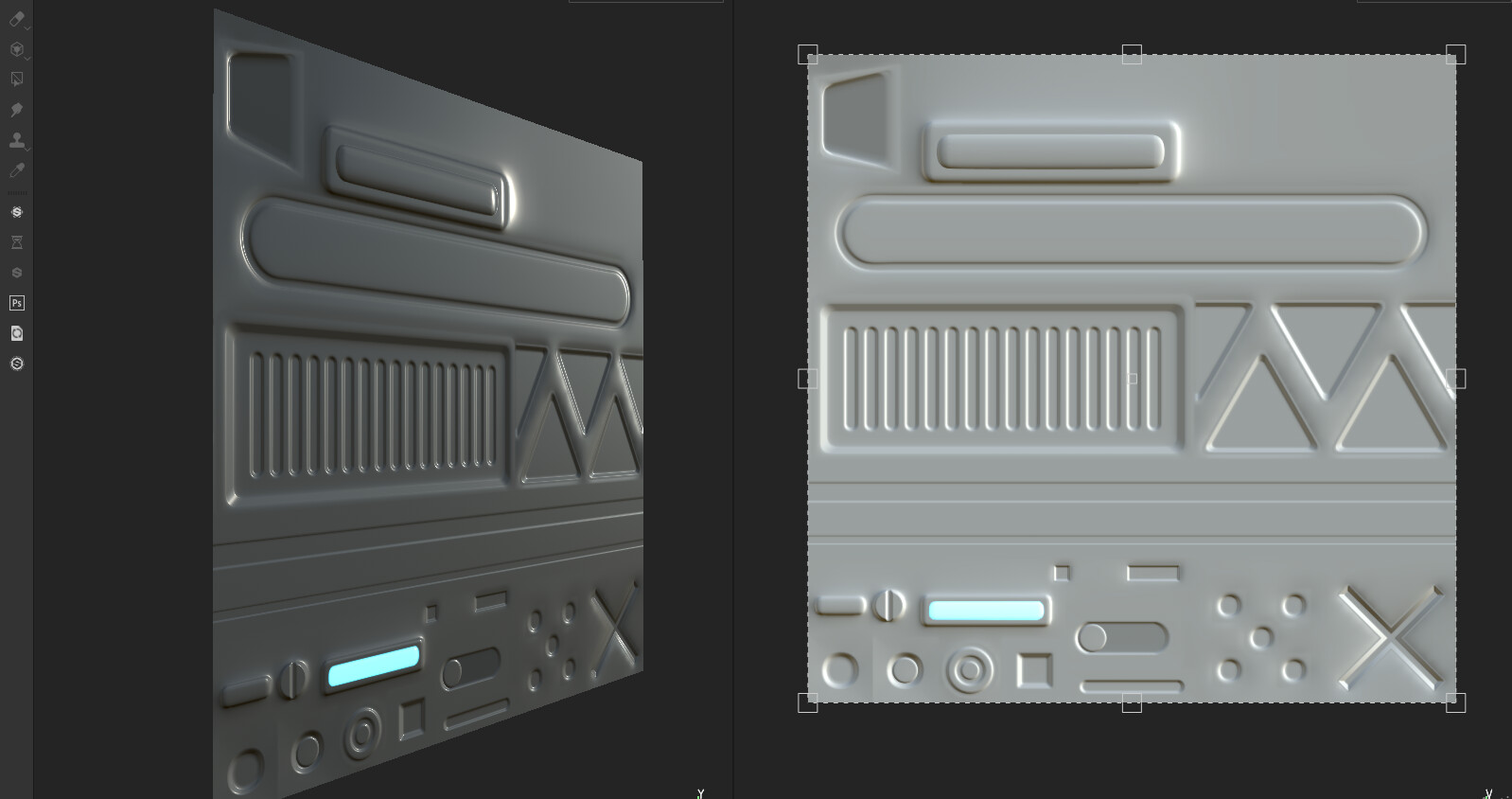 Hardsurface decals sheet