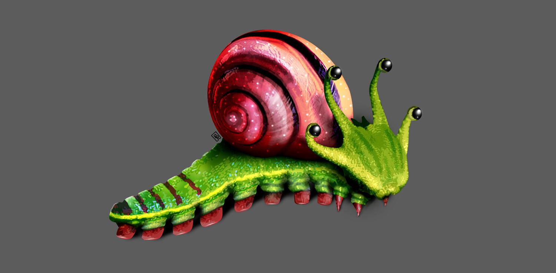 Background creature concept art.